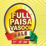 India Desire : Reliance Smart Full Paisa Vasool Sale Between 21st To 26th Jan : Republic Day Offers
