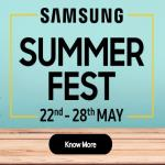 India Desire : Samsung Summer Fest [22nd To 28th May]- Verify Your E-mail And You Will Receive Rs 300 To Rs 2000 Discount Coupon