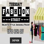 India Desire : Shopclues Tuesday Fashion Street : Get Upto 90% Off On Fashion Products From Shopclues
