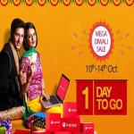 India Desire : Snapdeal Mega Diwali Sale Offers 10th-14th October 2018: 70% Off Diwali Deals + Upto 15% Extra Bank Discount