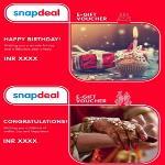 India Desire : Snapdeal Wedding E-Gift Card Offer : Flat 5% Off On Wedding E-Gift Card By Snapdeal