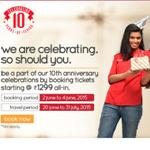 India Desire : Spice Jet Flight Booking Offer : Book Flights all inclusive from Rs. 1299 At SpiceJet Celebration Continue Sale