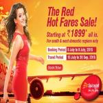 India Desire : Spicejet Red Hot fare Sales International Fares Starting At Rs 1899