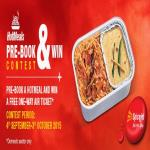 India Desire : Spicejet Hotmeals PreBook And Win Contest: Pre-Book a Hotmeal And Win A Free One Way Ticket From Spicejet #PreBookAndWin