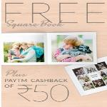 India Desire : Get Free Zoomin The Square Book 6 inches 20 Photos + Rs.50 Paytm Cashback From Zoomin