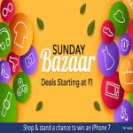 India Desire : Paytm Sunday Bazaar 7th Jan 2018 Deals Starting @ Rs 9 Only