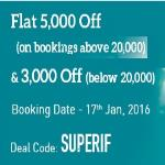 India Desire : MakeMyTrip SUPERIF: Get Flat Rs 5000 Off On International Flights