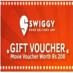 India Desire : Swiggy Movie Voucher Offer : Get Free Movie Voucher Worth Rs 200 On First Order From Swiggy