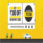 India Desire : Taxiforsure TFS150 Offer : Get Upto Rs. 300 Off On Your First Two Rides From Taxiforsure