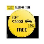 India Desire : Get Free Rs. 2000 Wallet Balance In Taxiforsure Wallet Use Promo Code REF1500 & REF500