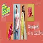 India Desire : The Flipkart Fashion Sale 2017: Upto 80% Off On Clothing, Footwear, Accessories & More [3rd -5th Jan]