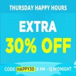 India Desire : Jabong Happy Hour Sale : Get Upto 50% Off + Extra 30% Off On Jabong [6PM To 12AM Midnight]
