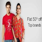 India Desire : Amazon Clothing Offers: Flat 50% Off + Extra 20% Off On Branded Fashion Clothing