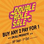 India Desire : Voonik Double Role Sale : Buy 1 Get 1 Free On All Products Between 28th Sep To 2nd Oct 2016