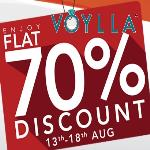 India Desire : Voylla The Freedom Sale : Upto 70% Off On Jewelry & Fashion #Independence Day Offer