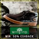 India Desire : Paytm- Get 50% Cashback On Woodland Footwear From Rs 1398