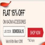 India Desire : Ebay : Xiaomi Accessories At Extra 15% Off - XOMIDEAL15