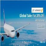 India Desire : Yatra Global Sale on Jet Airways : Flat 30% Off On International Flight From Yatra.com