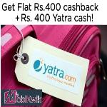 India Desire : Mobikwik Yatra.com Offer : Get 10% Cashback At Yatra Via Mobikwik