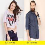 India Desire : Yepme Bogo Sale: Buy 1 Get 1 Free On Men's & Women's Clothing Starting @ Rs Rs 239 Only