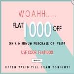 India Desire : Yepme Coupons & Offer : Flat Rs 1000 Off On Purchase Above Rs 1499