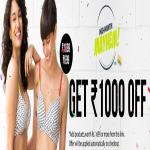 India Desire : Zivame: Flat Rs 1000 Off on Purchase Worth Rs 1699 Or Above
