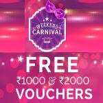 India Desire : Zivame Weekend Carnival : Get Free Zivame Vouchers Upto Rs 2000 On Shopping Worth Rs 2000