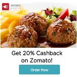 India Desire : Zomato Mobikwik Offer: Flat 20% Cashback At Zomato Via Mobikwik Wallet
