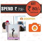 India Desire : Paytm Zoomin Offer : Buy 5pc 4×6 Photo Prints Free or 12?x18? Collage Poster At Rs. 98 & Get Rs. 80 Paytm Cash On order At Zoomin  With Paytm Wallet