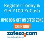 India Desire : Zotezo Signup Offer: Free Rs 100 Zocash On Signup + Extra 1% Off Via Payumoney
