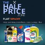 India Desire : Zotezo Half Price Sale : Get Flat 50% Off On All Products