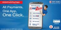 hdfc-payzapp coupons deals promocodes